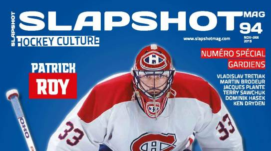 SLAPSHOTmag : Our Zone Hockey Goalies, gardien de passion