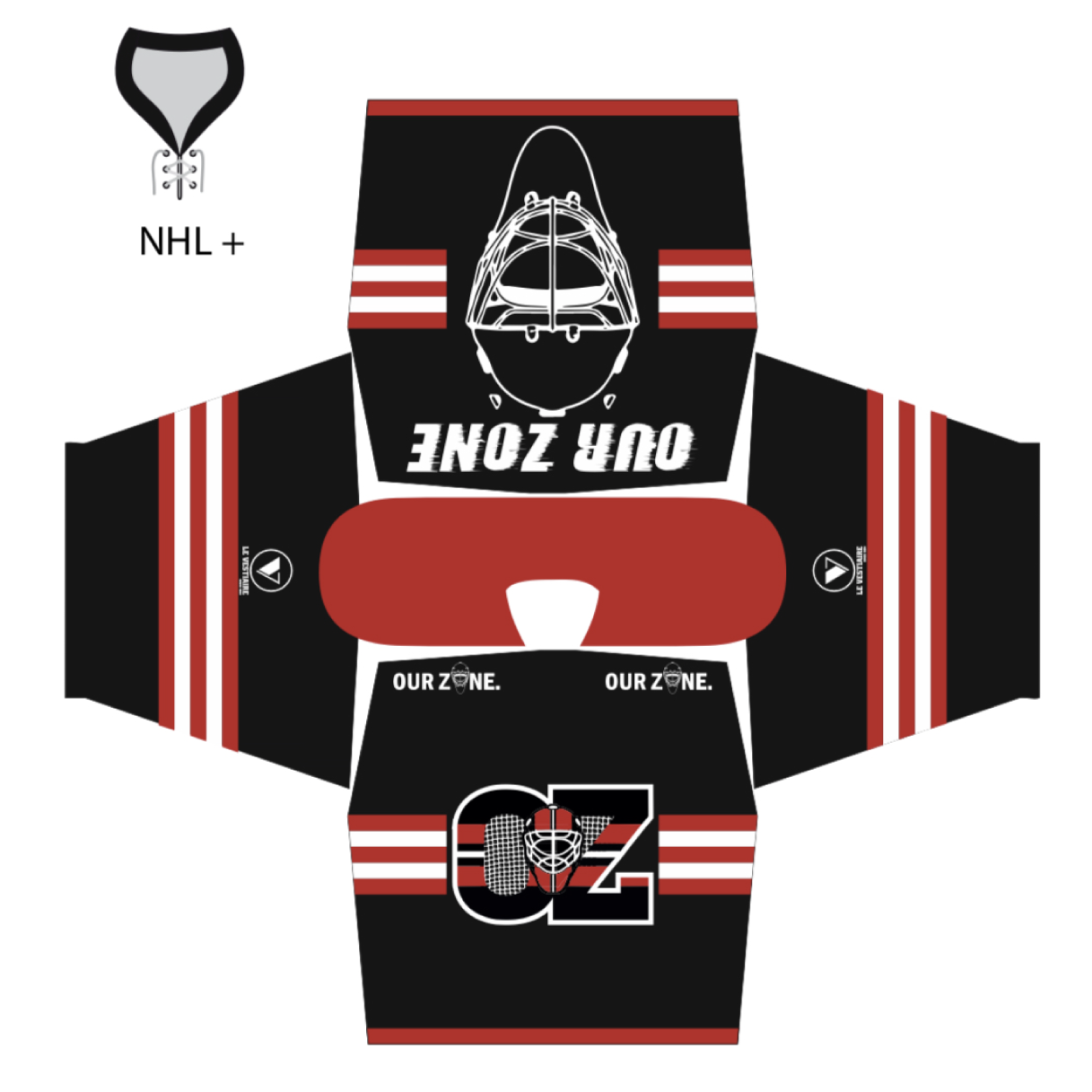 Maillot avec col NHL